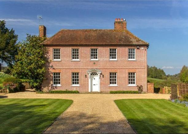 6 bedroom house for sale in hound house road shere for Georgian style homes for sale