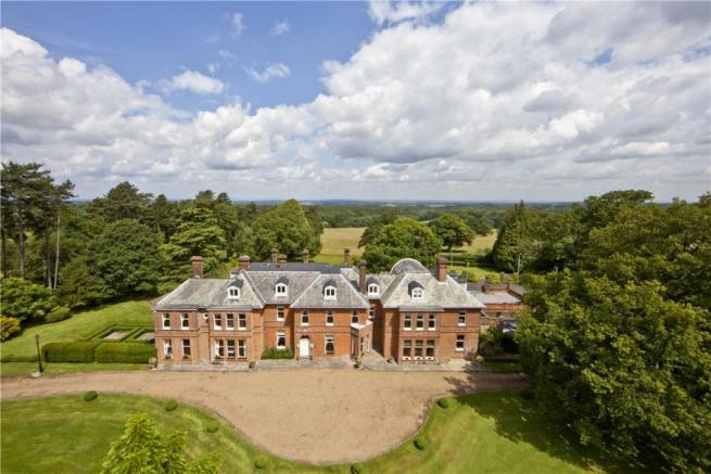 Grand Country House. 10 bedroom detached house for sale in Main Road  Knockholt
