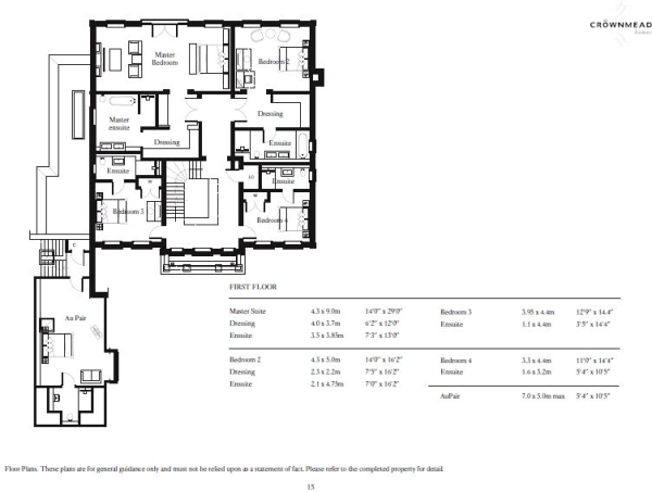 Floorplan- 1st Floor