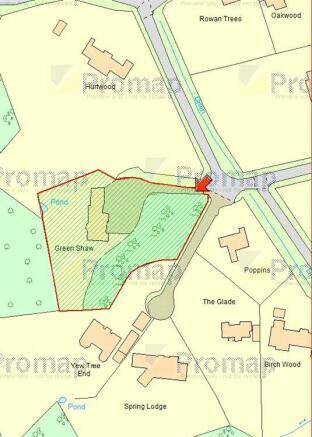Site Map GU25 4PW