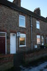 2 bed Terraced home to rent in Annie Street, Selby, YO8