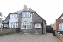 Chester Road semi detached house for sale