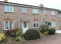 Terraced home for sale in Bronllys Mews...