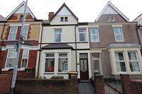 Terraced house to rent in Caerleon Road...