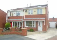 semi detached house for sale in Medley View, Conisbrough