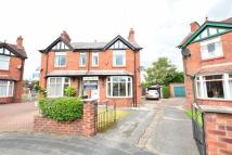 3 bed semi detached house in The Crescent, Middlewich...