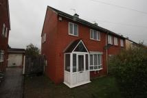 semi detached property in Bonnington Walk, Bristol...