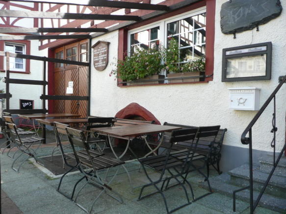 Guest terrace