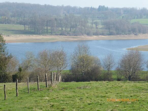 Lake from garden