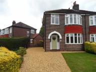 semi detached house for sale in Pendlebury Road, Gatley