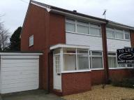 3 bed semi detached home to rent in Yarrow Close, Croston...
