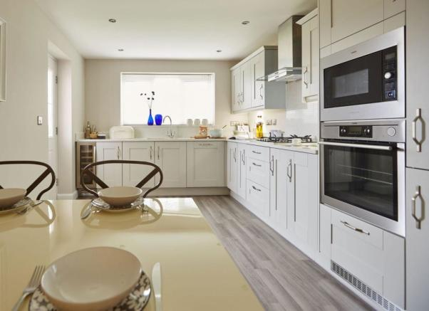 Typical Thame kitchen and breakfast area