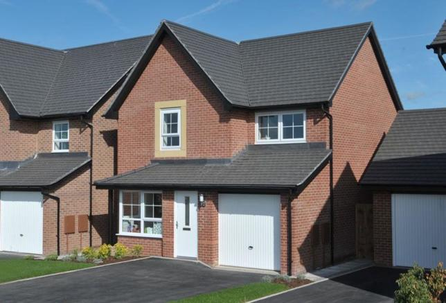 Typical Cheadle exterior