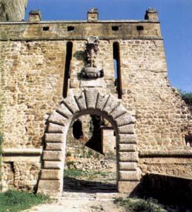 Etruscan ruins