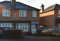 3 bed semi detached property in Thornhill Park Road...