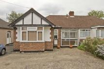 3 bed Semi-Detached Bungalow in HERLWYN AVENUE, Ruislip