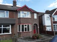 3 bed semi detached property to rent in Glebe Road, Hinckley