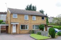 semi detached home for sale in 6 Hallcroft Neuk, Ratho...