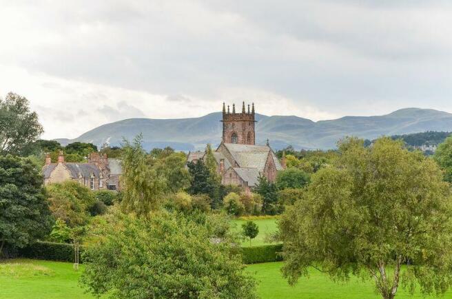 View to Pentlands