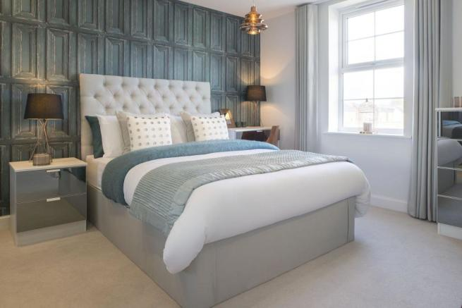 Typical Heathfield master bedroom