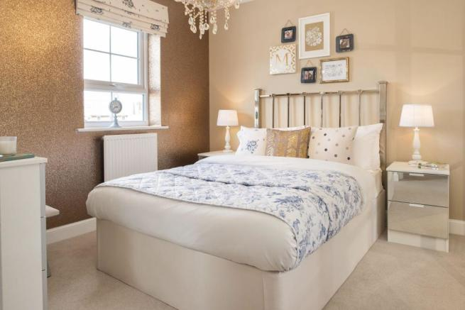 Typical Heathfield second bedroom