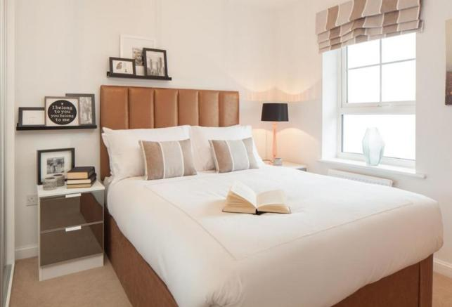 Typical Barwick second bedroom
