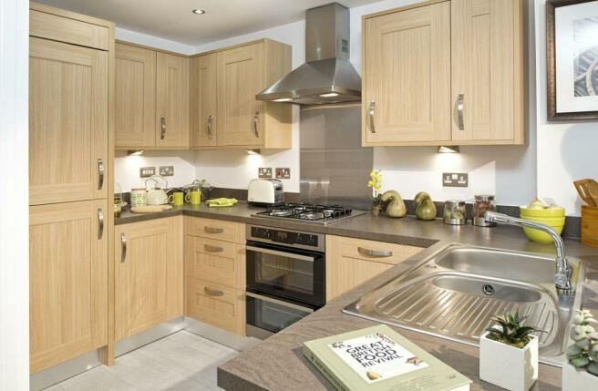 Typical Faversham kitchen