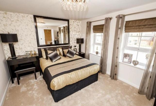 Typical Faringdon bedroom two