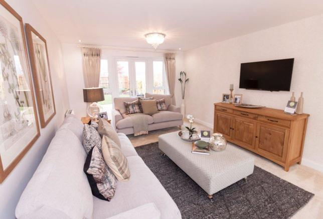 Alnwick Show Home lounge