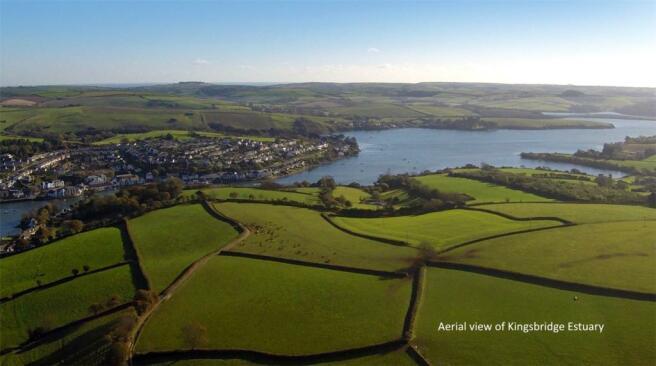 Aerial Of Estuary