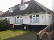 3 bed Semi-Detached Bungalow in Greenly Road, Parkfields...