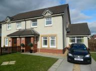 semi detached house in Bell View, Newmains...