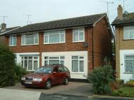 semi detached house in Glebe Drive, Rayleigh...