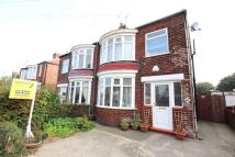 semi detached house to rent in Canterbury Road, Redcar...