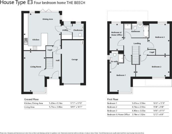 The Beech Floor Plan