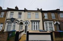 Terraced house in Blenheim Road, London...