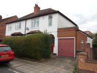 semi detached house in Cyril Avenue, Bramcote...