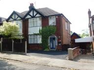 3 bed semi detached home in Fairview Road...