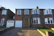 4 bed semi detached house in Parkside Crescent...