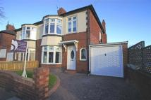 semi detached house in Plessey Crescent...