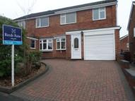 3 bed semi detached property in Trinity Road, Eccleshall...