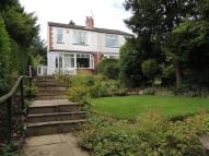 2 bedroom semi detached property in Strines Road, Marple...