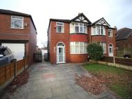 semi detached house to rent in Norris Road, Sale, M33