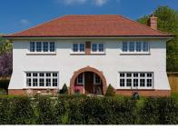 5 bed new house in Cefn Mably Road, Lisvane...