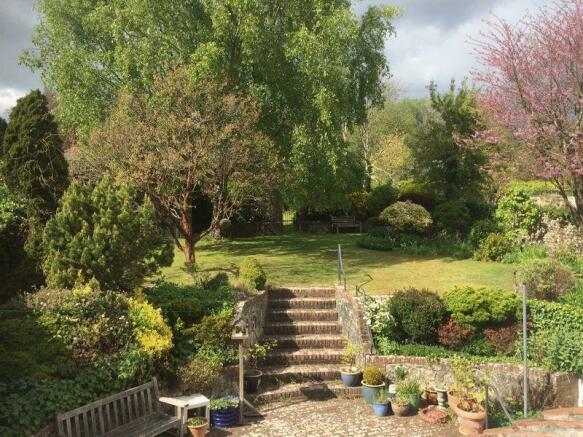 Garden from fi...