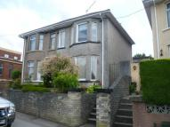 semi detached property in Tregwilym Road...