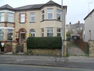 semi detached house in Chepstow Road, Newport,