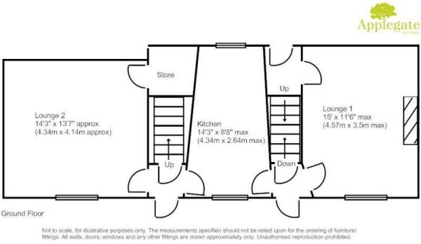 Grounf floor plan