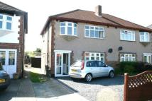semi detached house in Pettits Lane North...