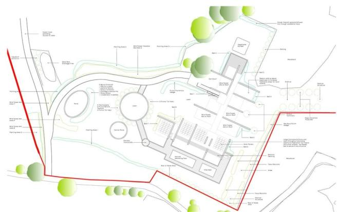 Grounds Layout